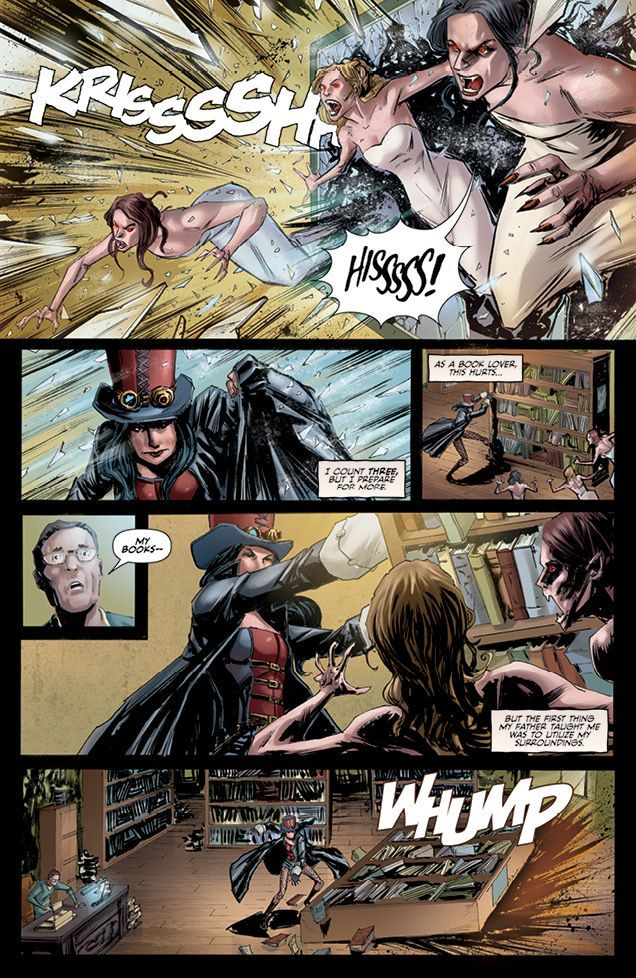 Grimm Fairy Tales Presents Helsing 2 05