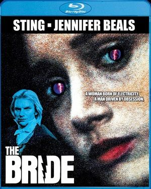 The Bride Blu Ray Poster