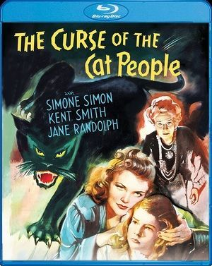 Curse Of Cat People Blu Ray Poster