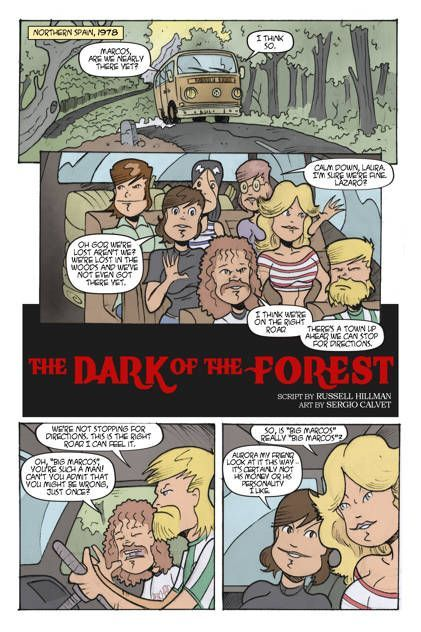 The Dark Of The Forest 01
