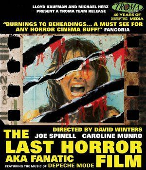 The Last Horror Film Blu Ray Poster