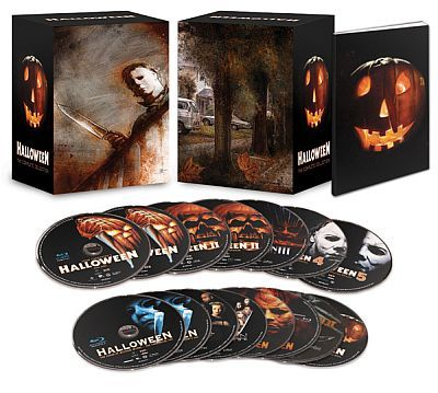 Halloween Complete Blu Ray Poster