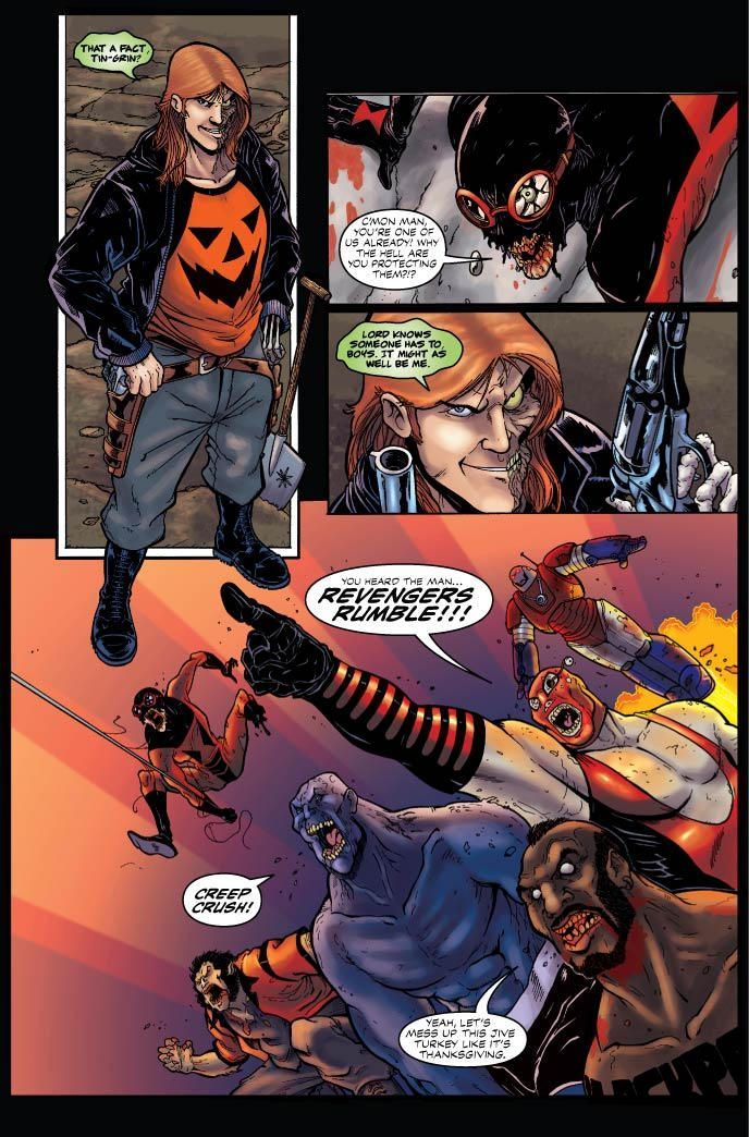 Hack Slash Vs Halloween Man 05
