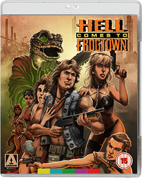 Hell Comes To Frogtown Blu