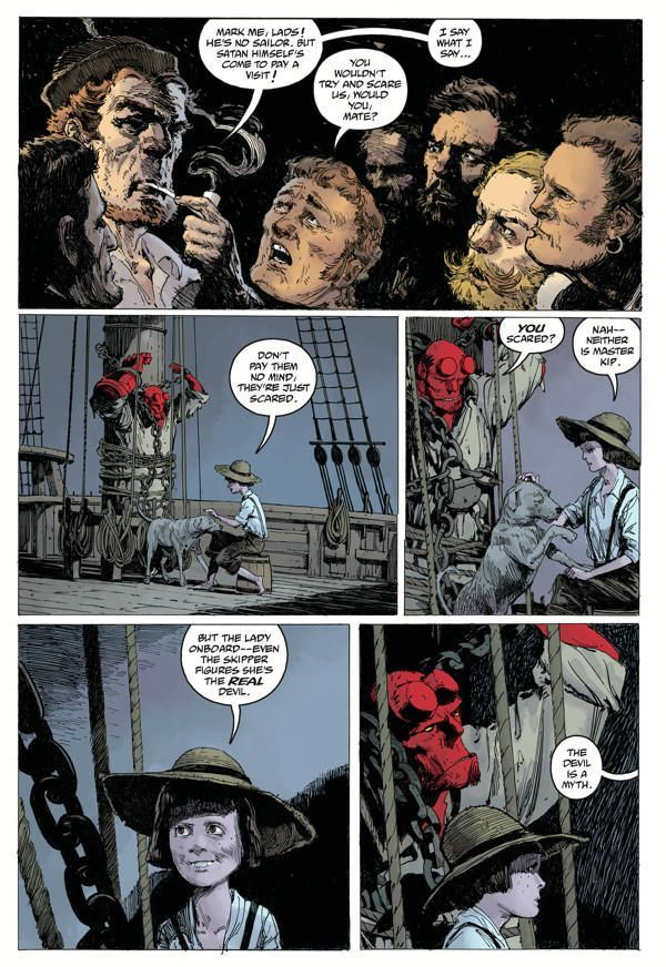 Hellboy Into The Silent Sea 04