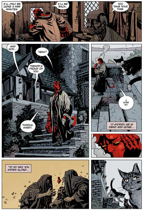 Hellboy Library Edition Volume 5 01