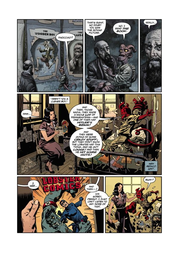 Hellboy The Midnight Circus 01