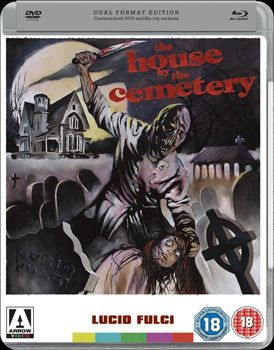House By The Cemetery Dvd Cover
