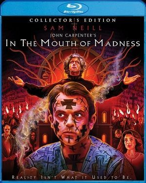 In The Mouth Of Madness Blu Ray Poster