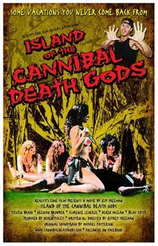 Island Of The Cannibal Death Gods Poster