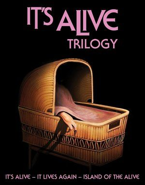 Its Alive Trilogy Blu Ray Poster
