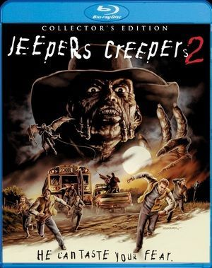 Jeepers Creepers 2 Blu Ray Poster