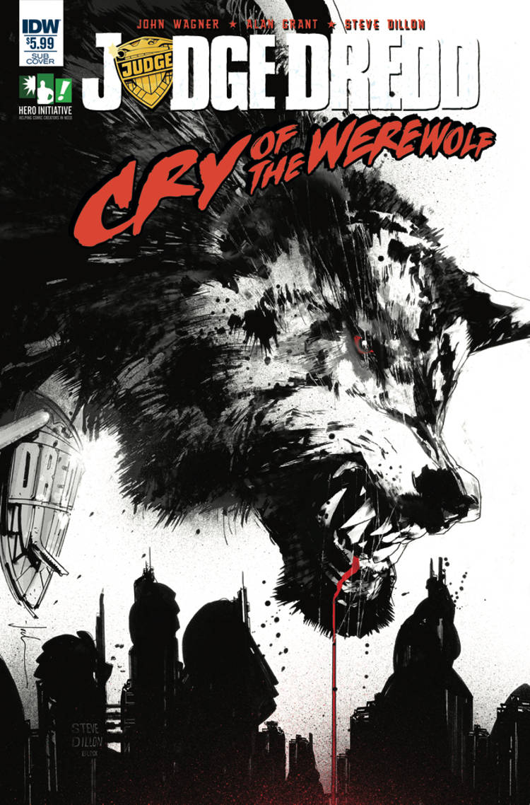 Judge Dredd Cry Of The Werewolf 01
