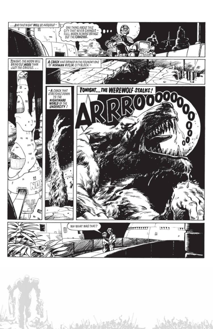 Judge Dredd Cry Of The Werewolf 02