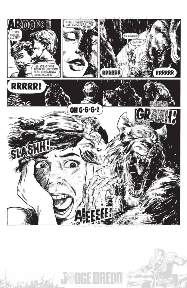 Judge Dredd Cry Of The Werewolf 03