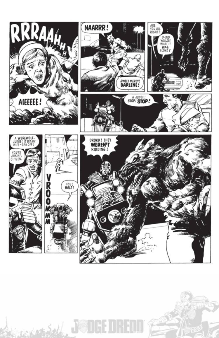 Judge Dredd Cry Of The Werewolf 05
