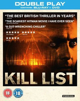 Kill List Blu Ray Cover