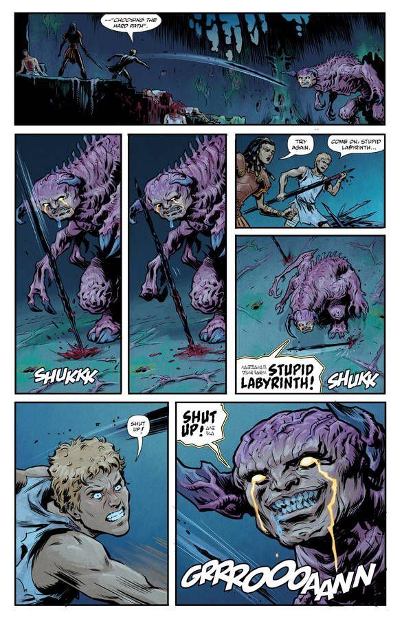 Kill The Minotaur 6 04