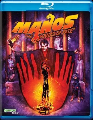 Manos The Hands Of Fate Blu Ray Poster