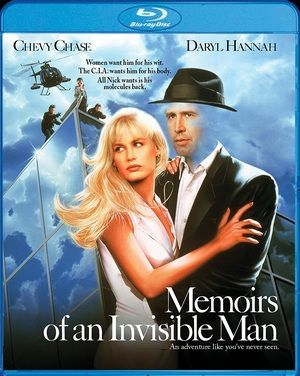Memoirs Of An Invisible Man Blu Ray Poster