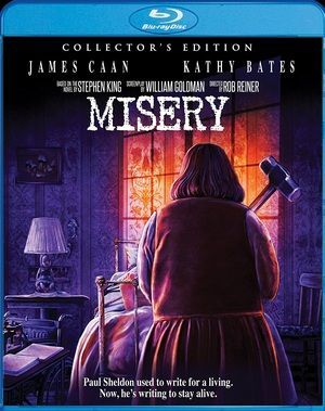 Misery Blu Ray Poster