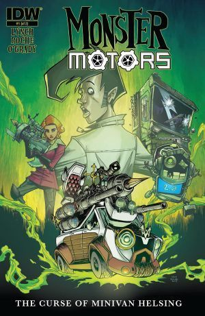 Monster Motors The Curse Of Minvan Helsing 1 00