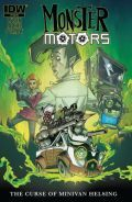 Monster Motors The Curse Of Minvan Helsing 1 Cover