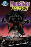 Monsters Among Us War Of Witches Cover
