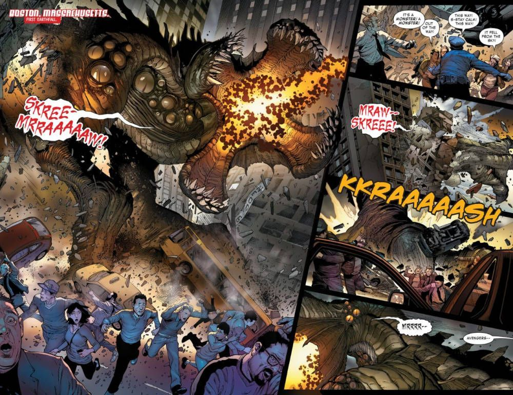 Monsters Unleashed 1 02