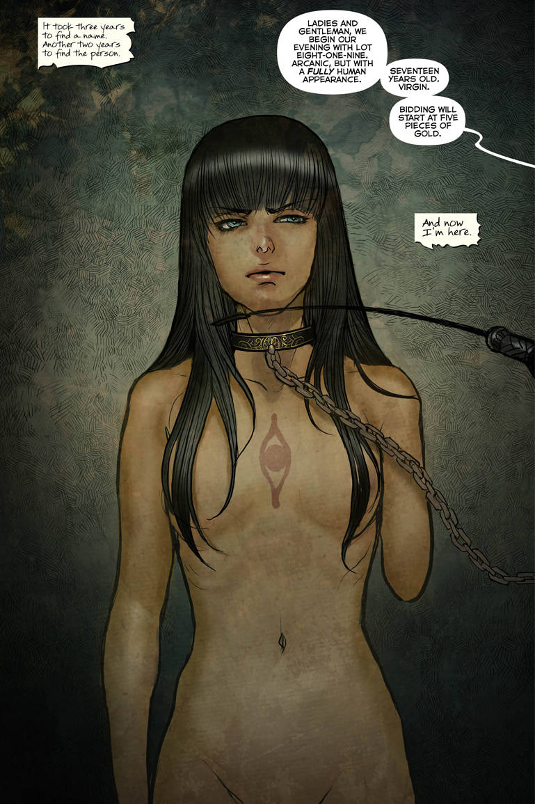 Monstress Volume 1 01