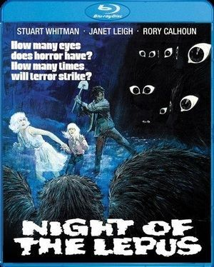 Night Of The Lepus Blu Ray Poster