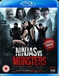 Ninjas Vs Monsters Blu