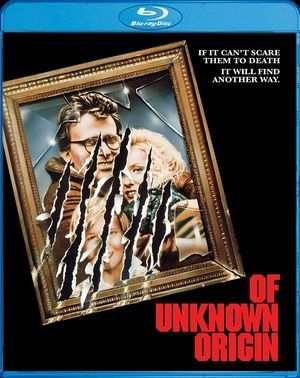 Of Unknown Origin Blu Ray Poster