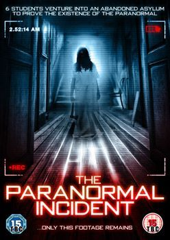 The Paranormal Incident Dvd Cover