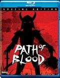 Path Of Blood Blu Ray Cover