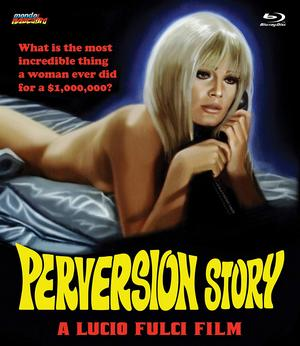 Perversion Story Blu Ray Poster