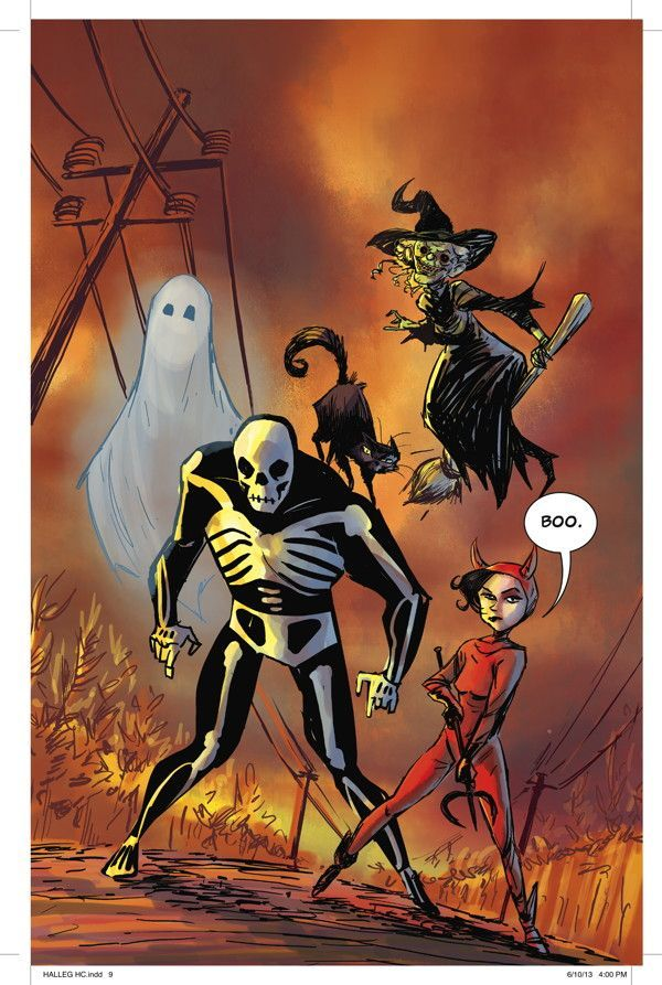 The Halloween Legion 03