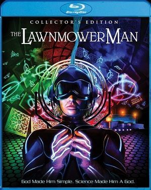 The Lawnmower Man Blu Ray Poster