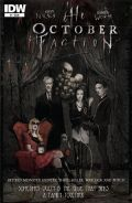 The October Faction 1 Cover