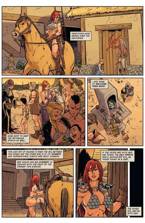 Red Sonja Halloween Special 02