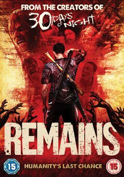 Remains Dvd Cover