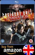 Buy Resident Evil Damnation Blu