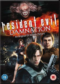 Resident Evil Damnation Dvd Cover