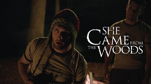 She Came From The Woods Poster