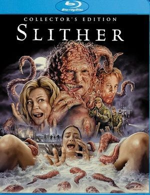 Slither blu ray poster