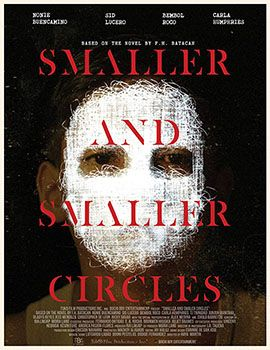 smaller and smaller circles poster