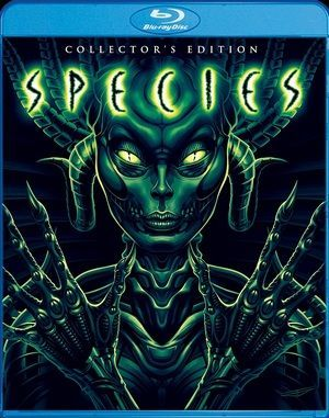 Species Blu Ray Poster