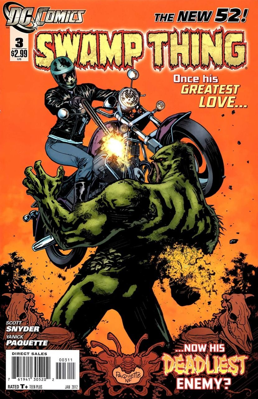 Swamp Thing Volume 1 02