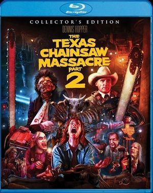 The Texas Chainsaw Massacre Part 2 Collectors Edition Blu Ray Poster