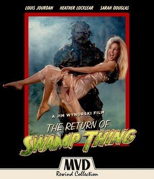 Return Of Swamp Thing Blu Ray Poster